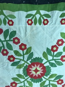 Whig Rose quilt top