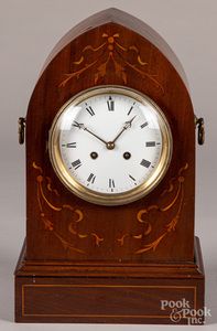 French Vincenti mantel clock, etc.