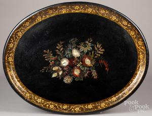 Victorian lacquer tray