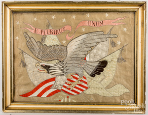 South Pacific patriotic embroidery