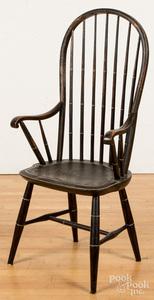 New England hoopback Windsor armchair