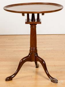 George II mahogany candlestand