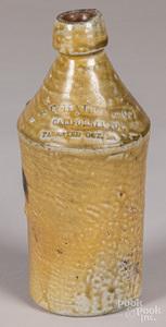 Halley & Co. California Pop stoneware bottle