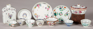 Chinese export porcelain, etc.