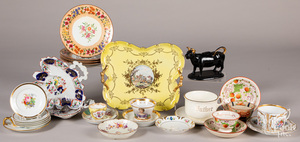 Miscellaneous group of porcelain