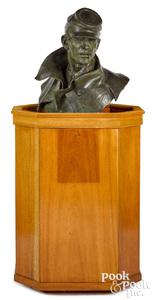 Edward Fraughton bronze Union Soldier