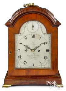 Baltimore Federal mahogany bracket clock