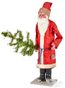 Father Christmas Santa Claus candy container