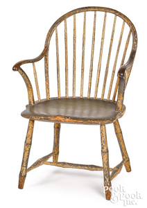 Philadelphia bowback Windsor armchair