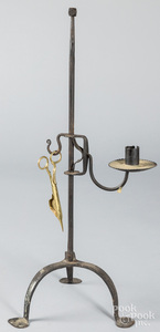 Jerry Martin wrought iron candle holder