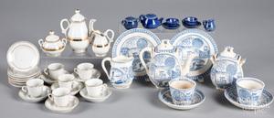 Miniature porcelain teawares