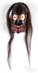 Iroquois Indian Spoon Mouth false face mask