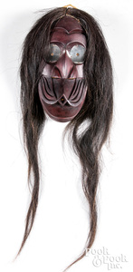 Iroquois Indian Whistler false face mask