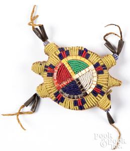 Sioux Indian turtle umbilical fetish
