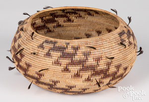 California Pomo Indian basket