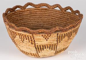 Northwest Coast Indian Klickitat basket