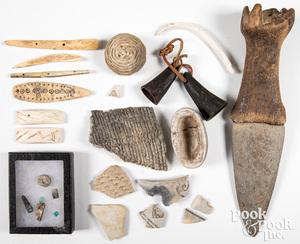 Group of Anasazi Indian artifacts