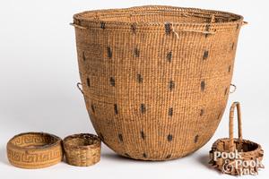 Shipibo tribal basket