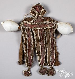 Papua New Guinea ceremonial apron or serue