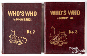 Who's Who in Indian Relics, volumes 7 & 8