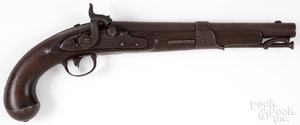 Simeon North model 1819 percussion pistol