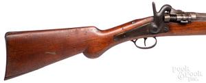 Belgian Snyder conversion P. G. Zulu shotgun
