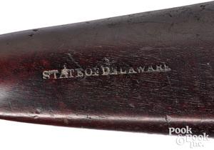 Nathan Starr model 1816 Delaware flintlock musket
