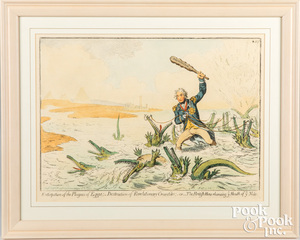 Two Admiral Lord Nelson lithographs