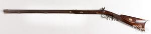 A. McComas, Baltimore half stock long rifle