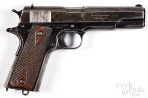 Colt 1911 Government model semi-automatic pistol
