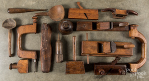 Wooden tools and accessories
