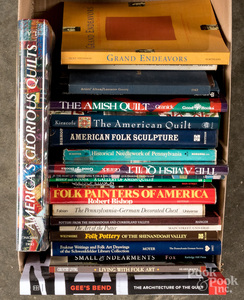 Reference books on antiques