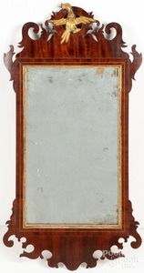 Chippendale mahogany mirror, late 18th c.