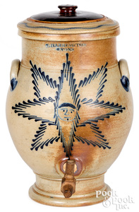 New York stoneware water cooler Harrington