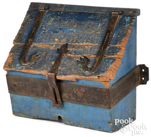 Pennsylvania painted Conestoga wagon box, ca. 1800