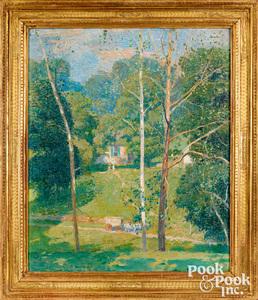 Daniel Garber (American 1880-1958), oil on canvas