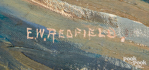 Edward Willis Redfield oil on canvas South Window