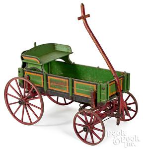 Painted Studebaker Junior child's wagon
