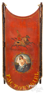 Painted Factory Girl sled, circus performer