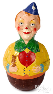 German composition clown rolly dolly