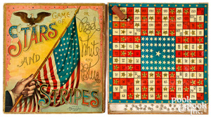 McLoughlin Bros. Stars and Stripes game