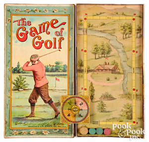 J.H. Singer The Game of Golf, ca. 1900