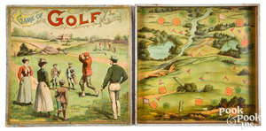 McLoughlin Bros. Game of Golf, ca. 1900