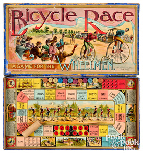 McLoughlin Bros. Bicycle Race Game for Wheelman