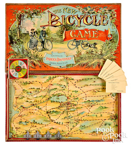 Parker Bros. New Bicycle Game, ca. 1894