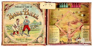 Parker Bros. Professional Game of Base Ball