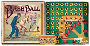 Base Ball board game, by Pan American Toy Co.