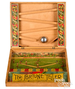 Base Ball Fortune Teller Game of Addition