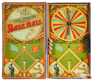 McLoughlin Bros. The World's Game of Baseball