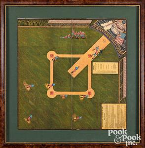Our National Ball Game, ca. 1886, baseball